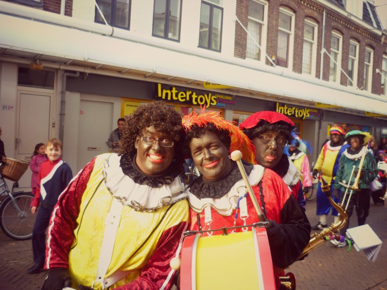 Zwarte Pieten in Haarlem