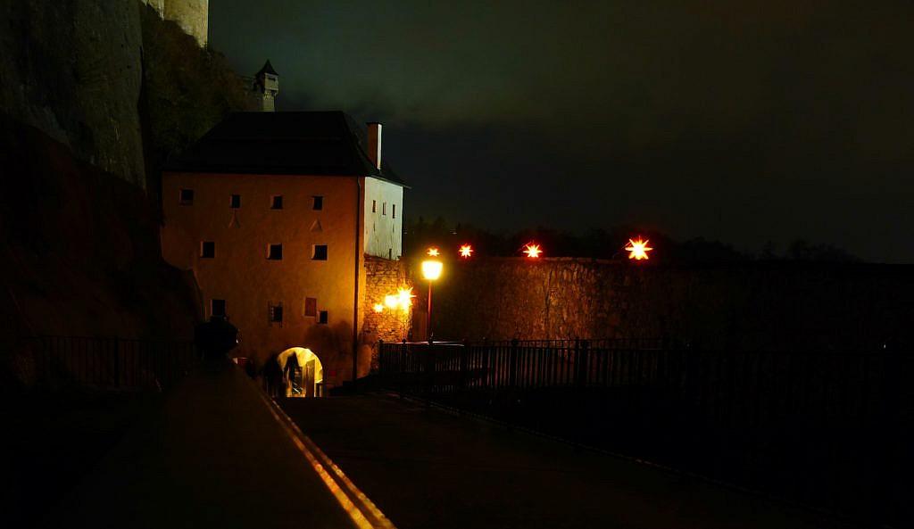 Der Sternenpfad zum Schloss Hohensalzburg