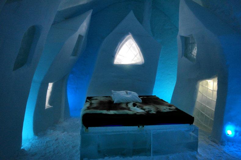 Das Eishotel in Jukkasjärvi 2