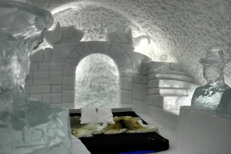 Das Eishotel in Jukkasjärvi 4