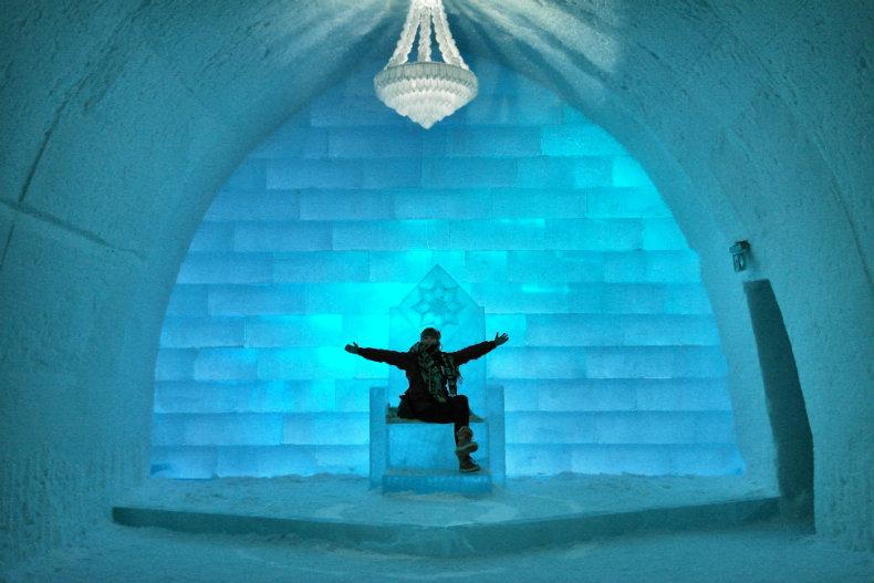 Das Eishotel in Jukkasjärvi 7