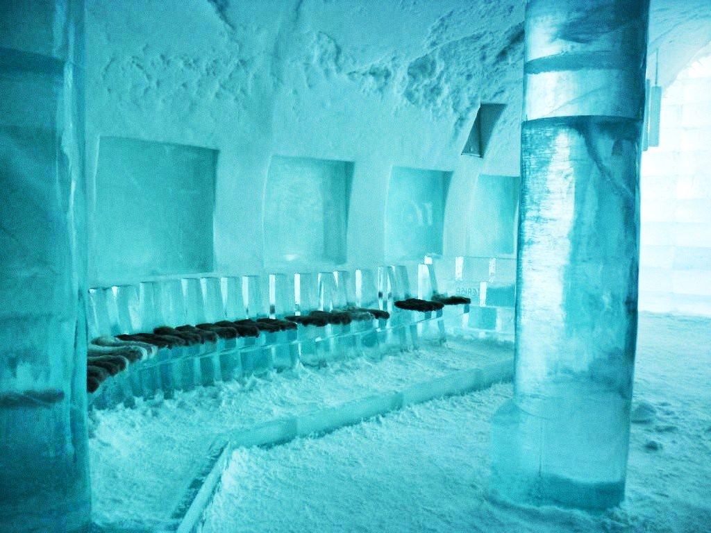 Absolute Icebar im Eishotel Jukkasjärvi
