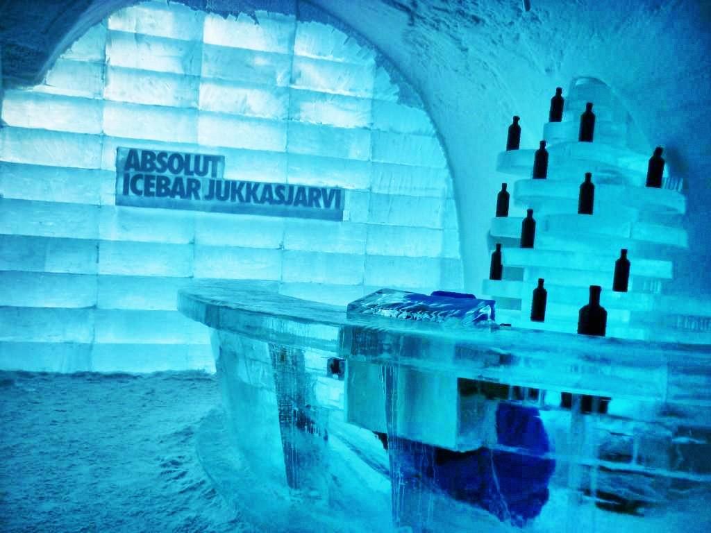 Absolut Icebar Jukkasjärvi