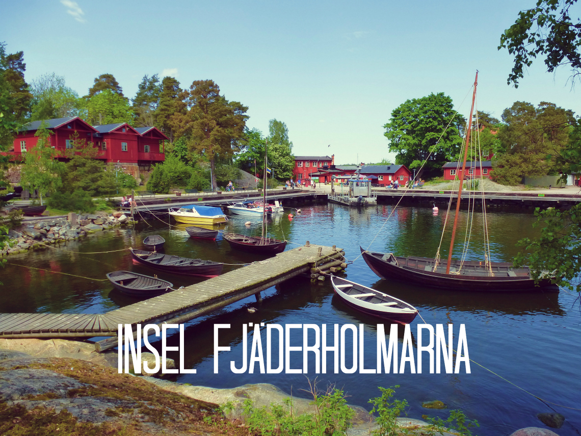Fjäderholmarna – Idyll in Stockholms Schärengarten
