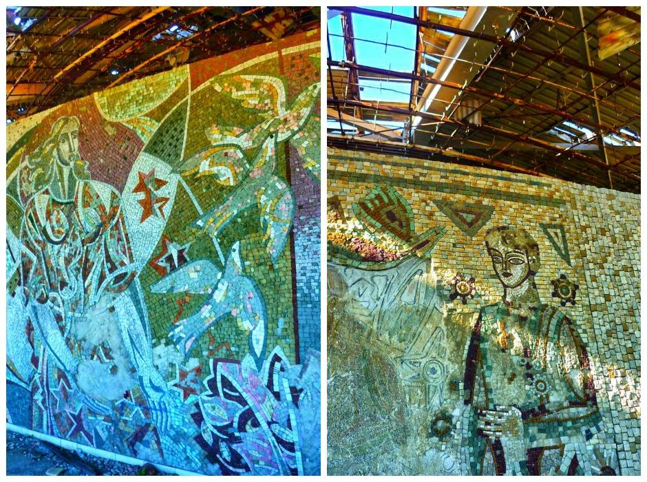 Mosaike in Buzludzha
