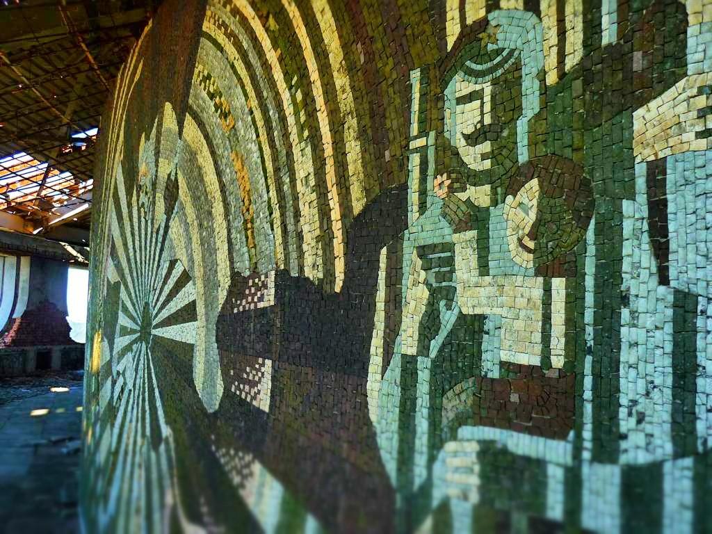 Mosaik im Buzludzha Monument
