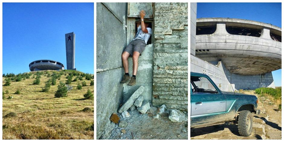 Buzludzha Monument – Bulgariens verlassenes UFO