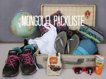 Mongolei Packliste