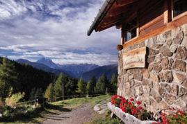 Hüttenromantik in Südtirol
