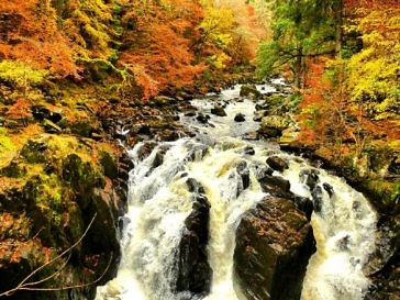 Herbstwandern in Schottland