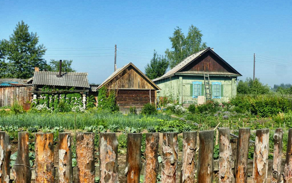 Zu Besuch in Sibirien