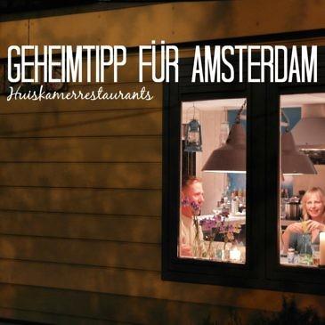 Amsterdamer Geheimtipp: kulinarischer Genuss im Huiskamerrestaurant