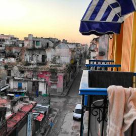 Balkon im Casa Particular in Havanna