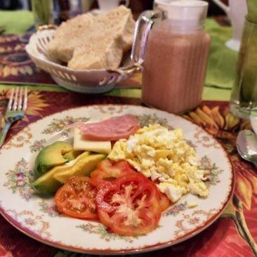 Frühstück in Havanna