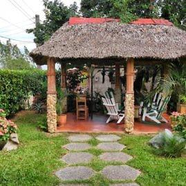 Unser Garten im Casa in Vinales