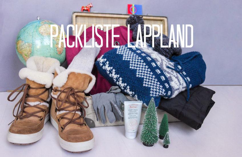 Packliste für Lappland im Winter