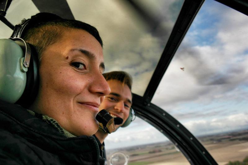 Helkopterflug über die Tulpenfelder (6)