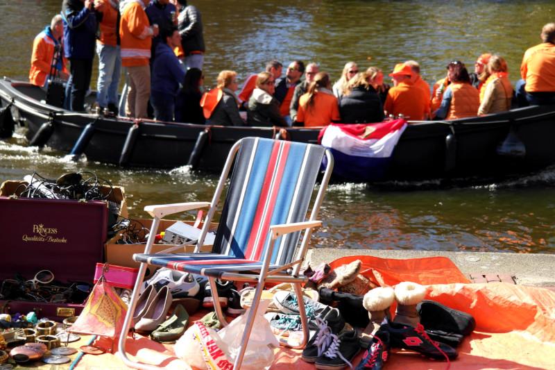 Königstag in Amsterdam erleben