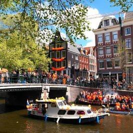 Königstag in Amsterdam erleben: So geht's!