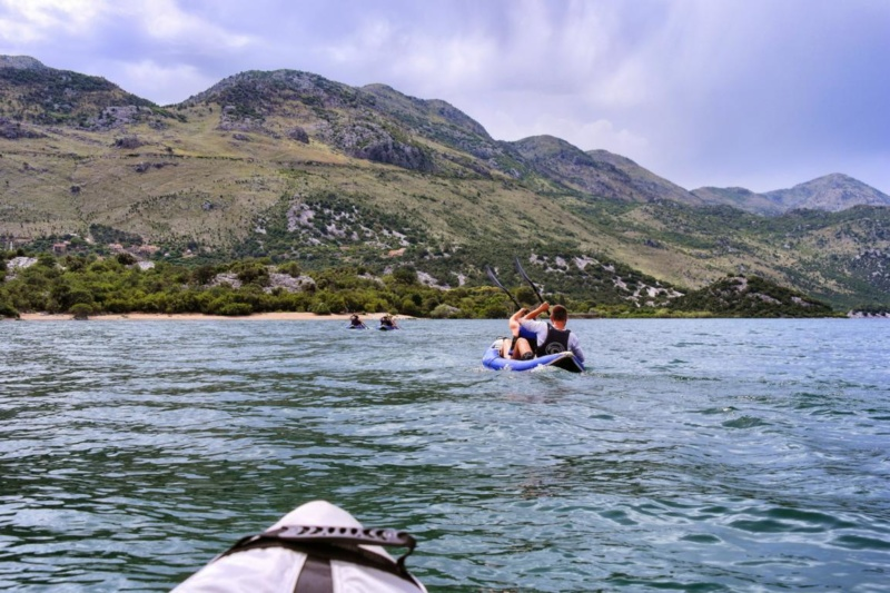 Kanufahren auf Montenegros Skutarisee (33)