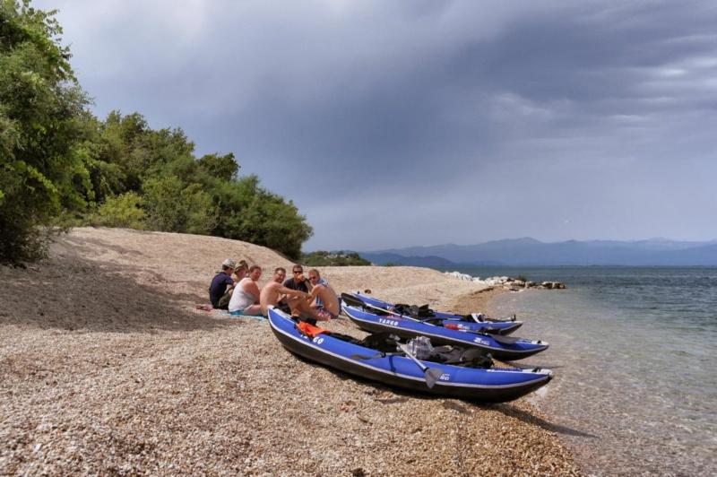 Kanufahren auf Montenegros Skutarisee (35)