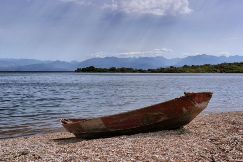 Kanufahren auf Montenegros Skutarisee (6)