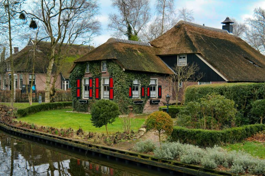 Die schönsten Ausflugsziele in Holland - Giethoorn