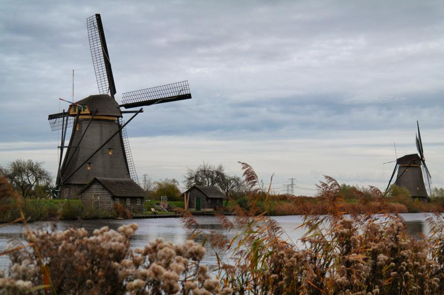 Die schönsten Ausflugsziele in Holland - Kinderdijk