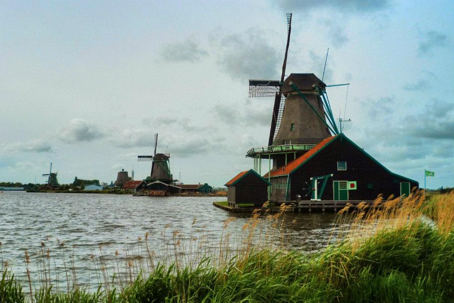 Die schönsten Ausflugsziele in Holland - Zaanse Schans