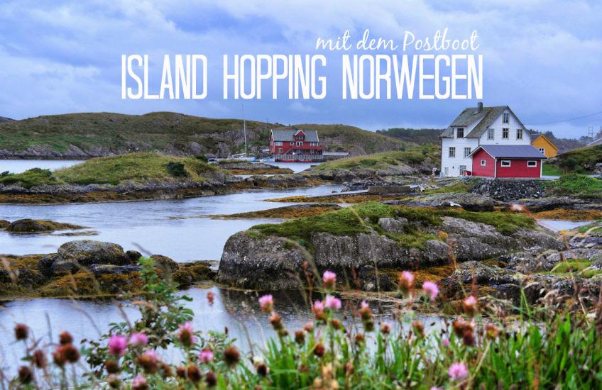Island Hopping in Norwegen: Mit dem Postschiff von Solund nach Bulandet