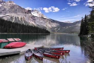 Westkanada Highlights in 2 Wochen - Emerald Lake