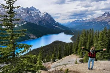 Westkanada Highlights in 2 Wochen - Peyto Lake
