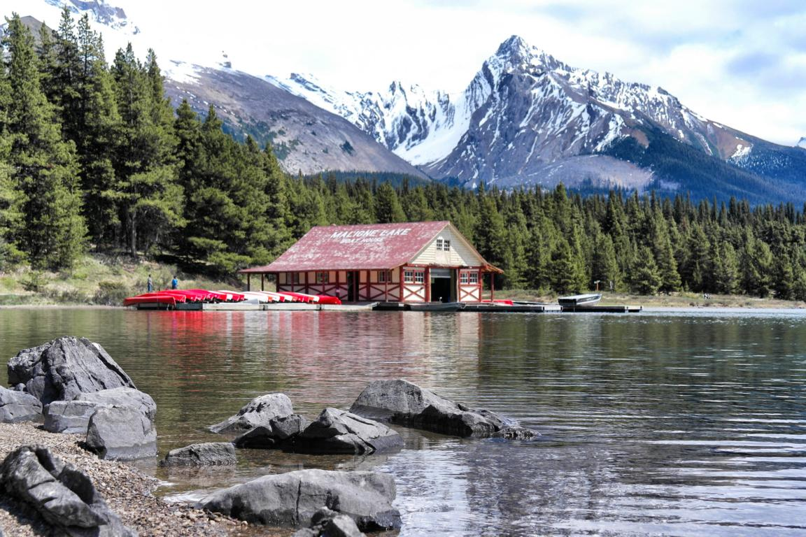 Westkanada Highlights in 2 Wochen - Maligne Lake