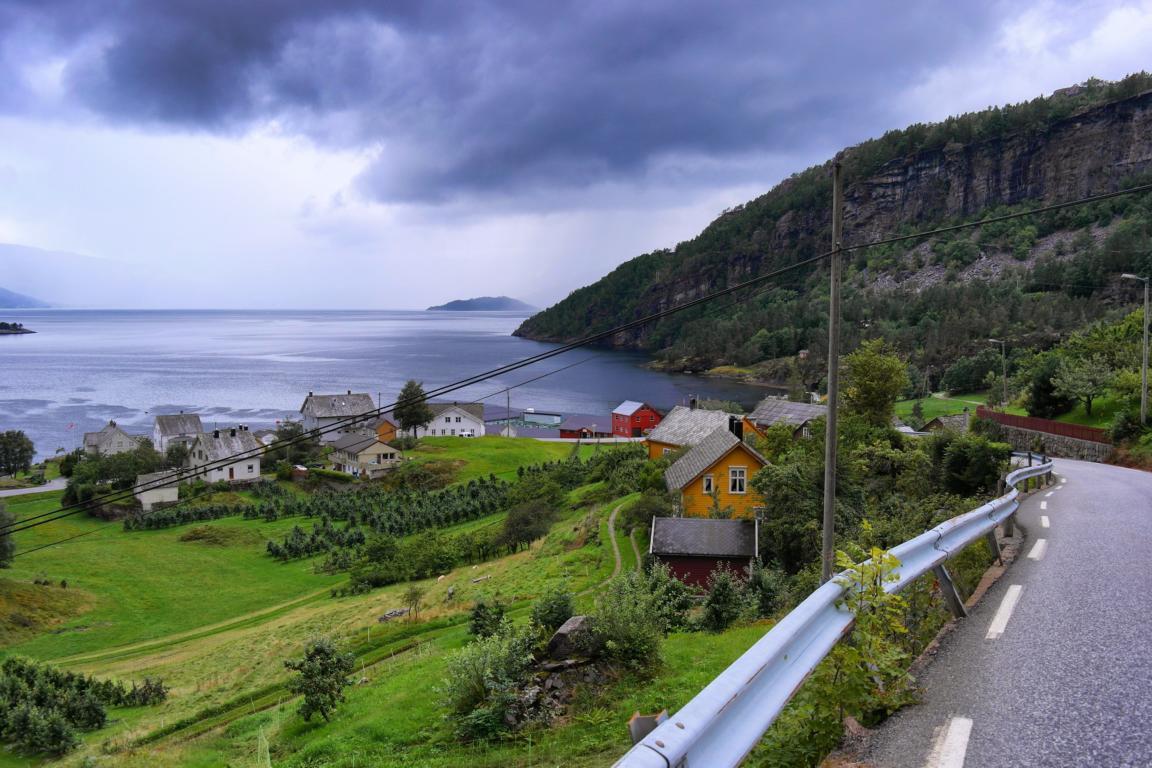 Norwegen-Kurztrip in 5 Tagen - Hardangerfjord