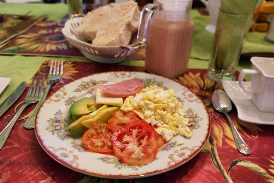 Reisevorbereitung Kuba - Frühstück im Casa Particular