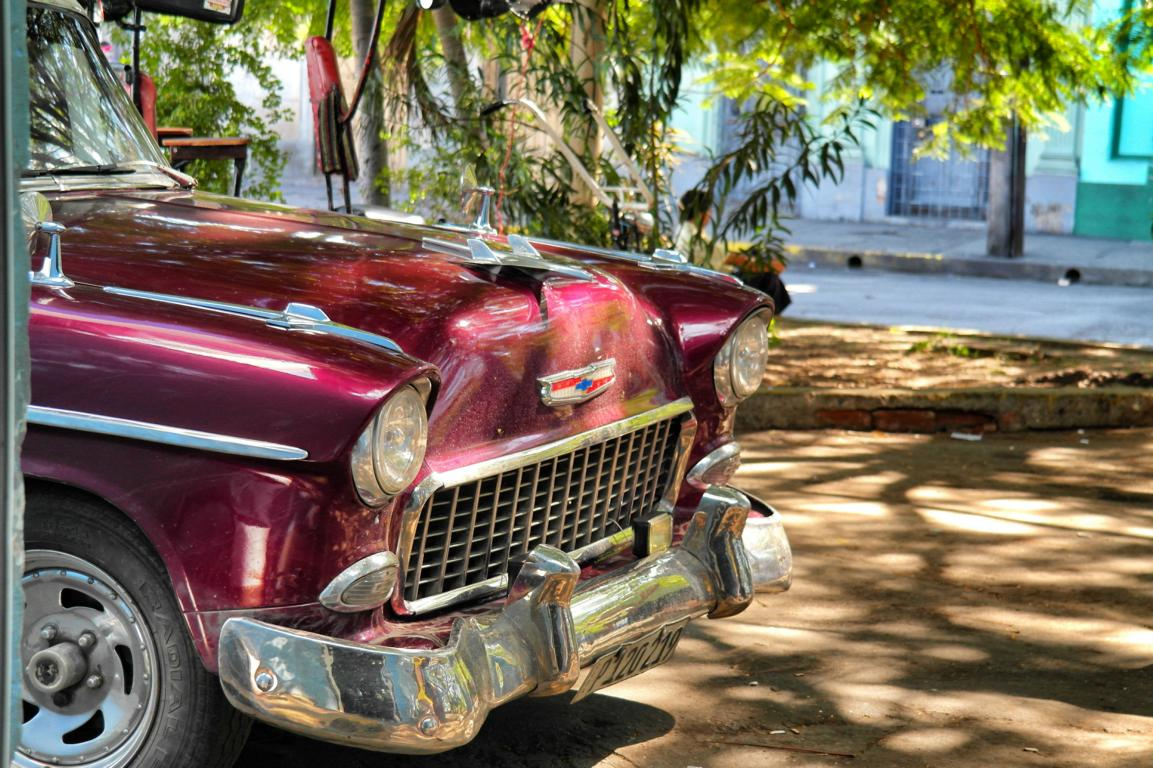 Reisevorbereitung Kuba - Oldtimer