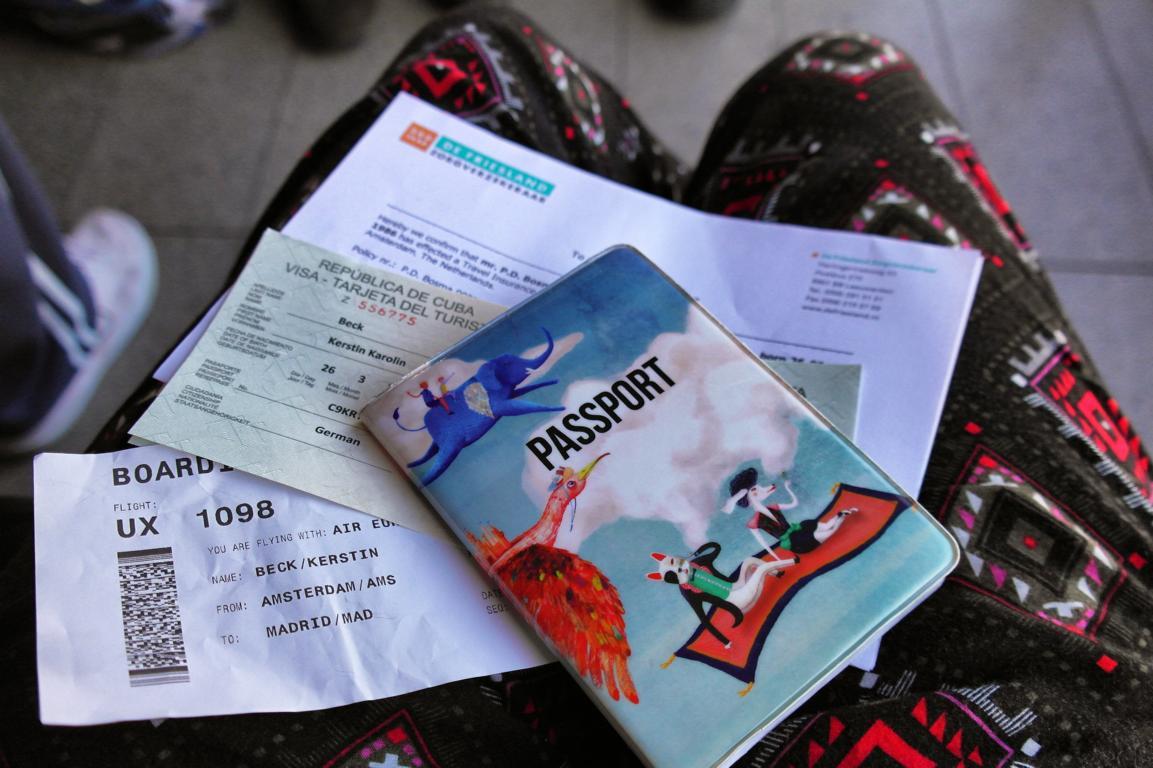 Reisevorbereitung Kuba - Reisedokumente