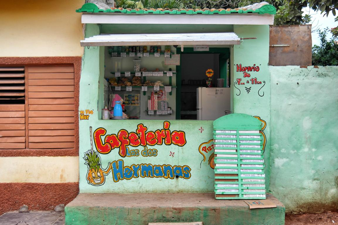 Reisevorbereitung Kuba - günstig essen am Straßenstand