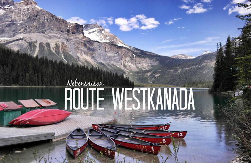 Westkanada Route für 2 Wochen