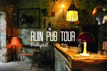 Ruin Pub Tour in Budapest