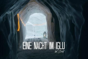 Iglu Übernachtung in den Alpen - Schneedorf Hochötz