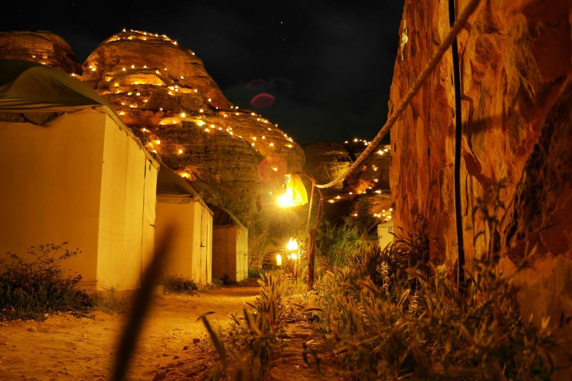 Besondere Unterkünfte in Jordanien - Seven Wonders Bedouin Camp