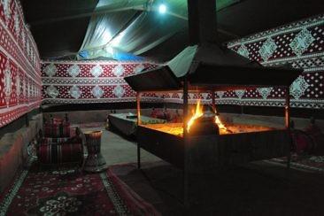 Besondere Unterkünfte in Jordanien - Wadi Rum Sky Camp