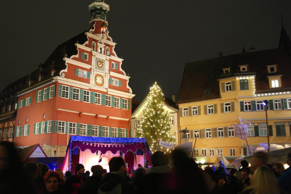 Der mittelalterliche Weihnachtsmarkt in Esslingen - Besondere Ausflugsziele in Baden-Württemberg