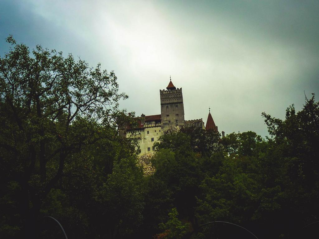 Das Draculaschloss in Bran, Rumänien