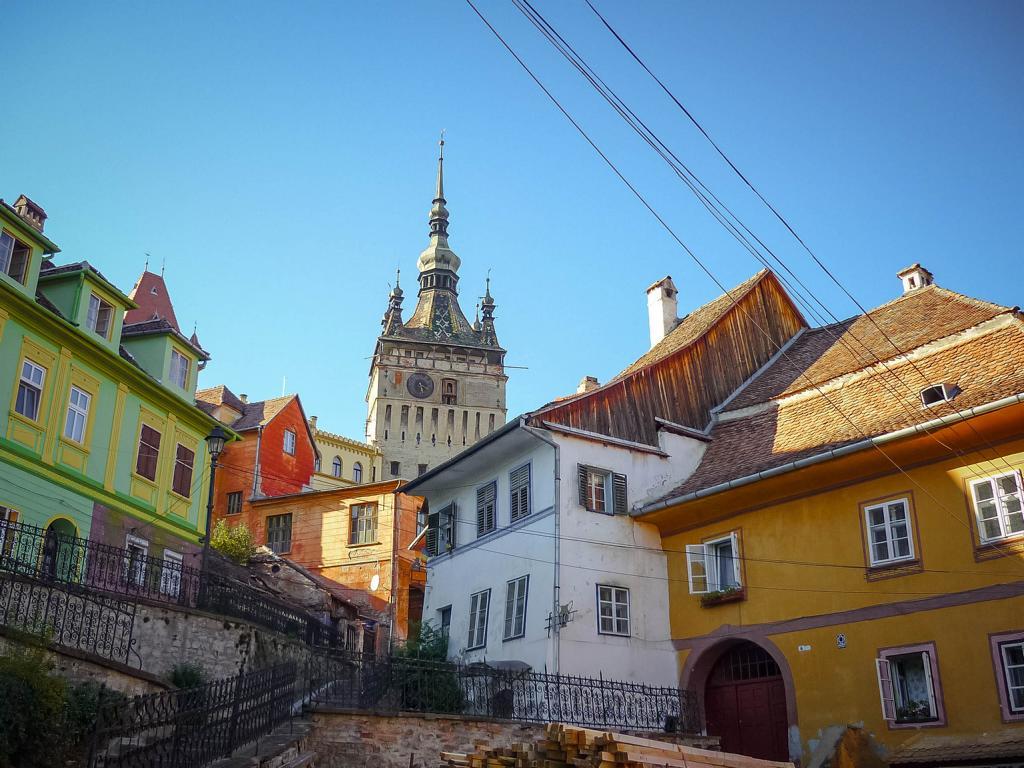 Sighisoara in Rumänien