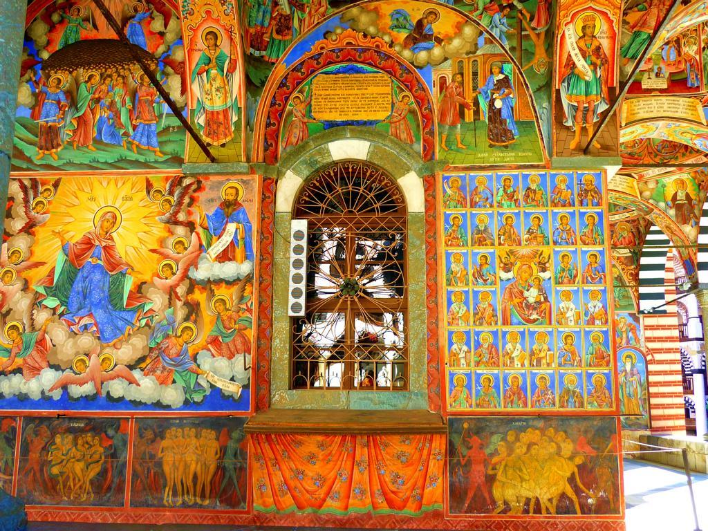 Dar Rila Kloster in Bulgarien