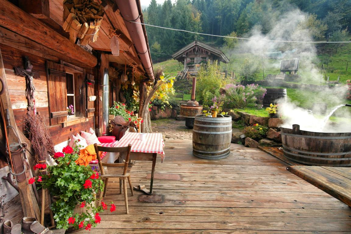 Schwarzwald wie anno dazumal - Bader Almhütte