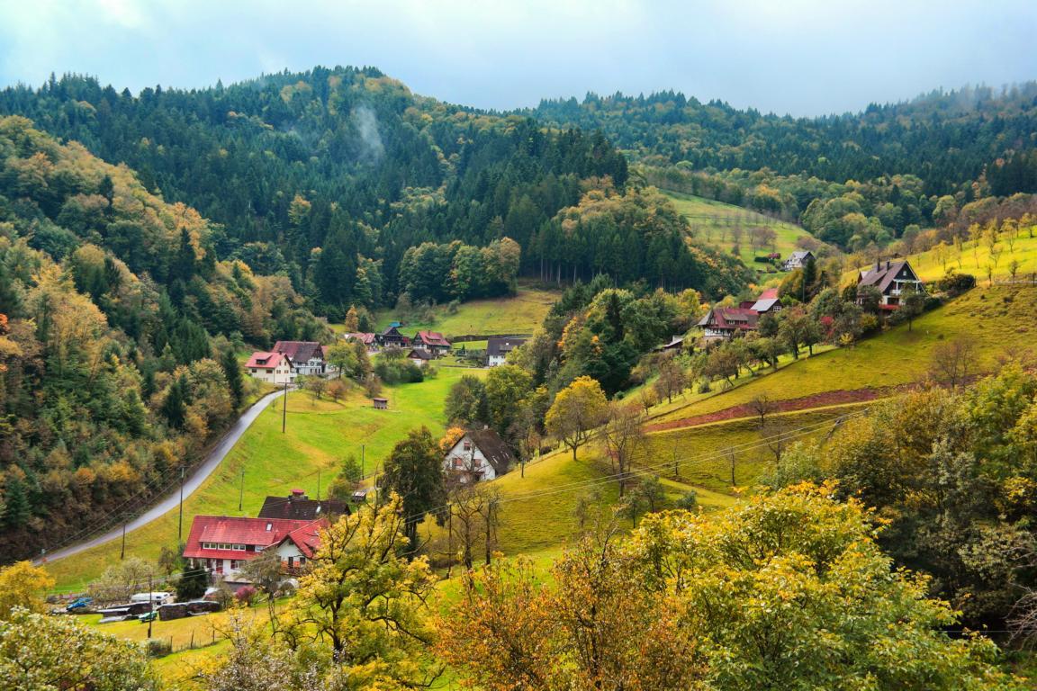 Schwarzwald wie anno dazumal - Mühlenweg in Ottenhöfen