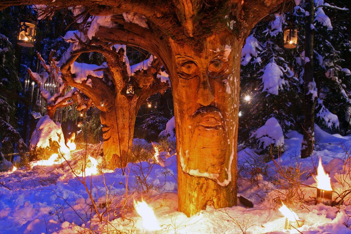 Waldweihnacht in Schweinhütt